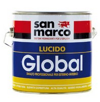 GLOBAL LUCIDO SMALTO ANTIRUGGINE URETANICO LINEA PROFESSIONALE